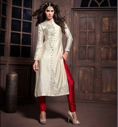 Plain Silk Salwar Suits in Sarita Vihar, New Delhi -
