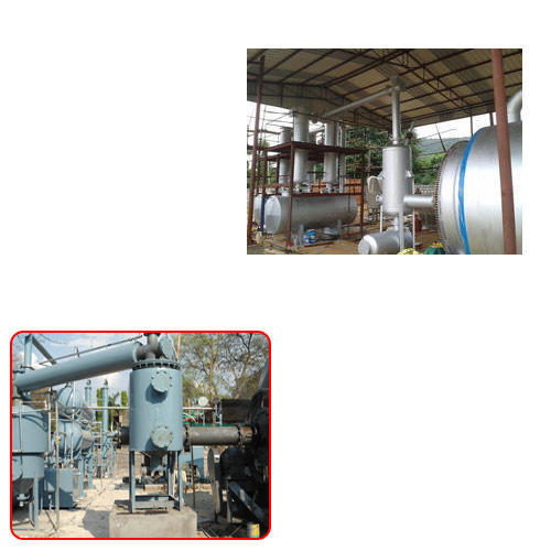 Tyre Pyrolysis Plant for Rubber Industry