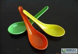 Plastic Masala Spoon