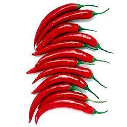 Fresh and Natural Red Chillies