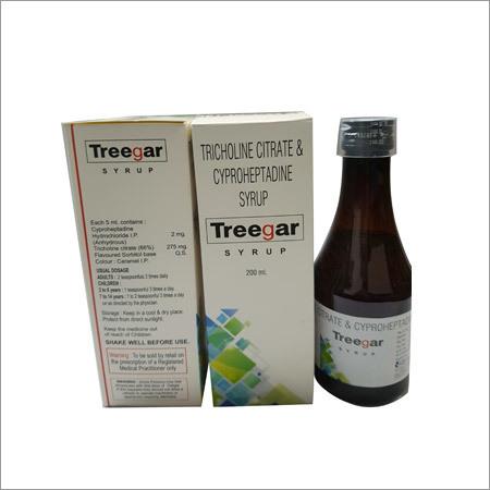 Treegar Syrup 200 ml in   Kilachand Shopping Centre