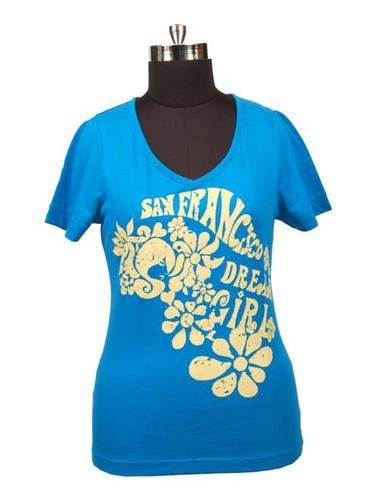 Ladies Casual Printed T-Shirt in   HSIIDC