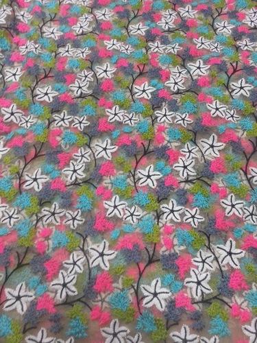 Embroidered fabric in surat gujarat india kammu jhuma