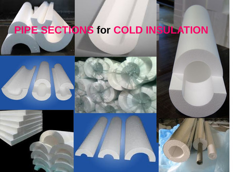 Pipe Section For Cold Insulation