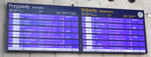 Passenger Information System Directory Passenger