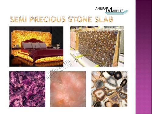 Semi Precious Stone Slabs in  Mansarover Garden