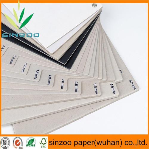 Grey board laminated paper in dongguan guangdong