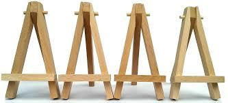 Wooden Mini Easels in  Marine Lines