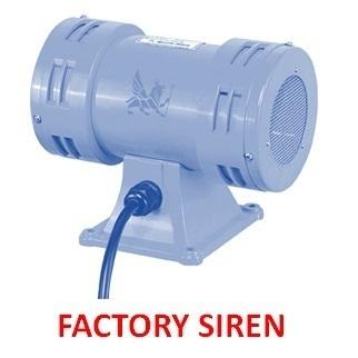 Industrial Sirens