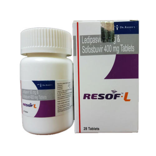 Resof L Ledipasvir And Sofosbuvir Tablets in  Darya Ganj