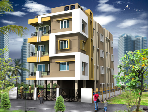 Prithibi Residential Building Flats in  Garfa Main Road