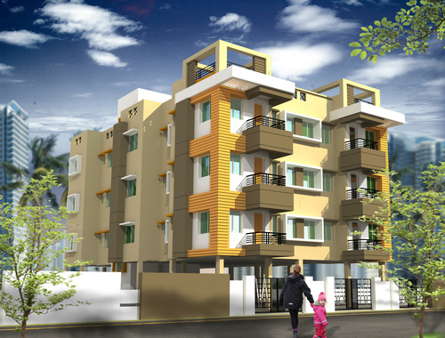 S.R. Residential Building Project in  Garfa Main Road