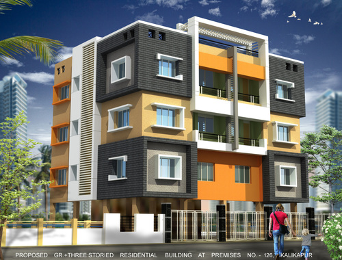 Surya Residential Building Flats in  Garfa Main Road