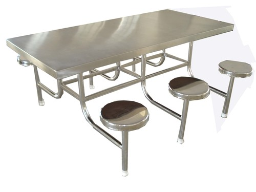 Restaurant Stainless Steel Dining Table Set in Mumbai  : restaurant stainless steel dining table set 522 from www.tradeindia.com size 500 x 375 jpeg 50kB