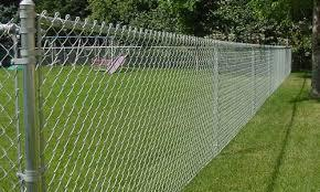 Galvanised Steel Chain Link Fence in  A-Sector (Sanwer)