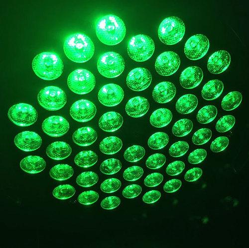Night Club Decor Mixing Colors 7 Channels Stage Entertainment 54Pcsx3W 3In1 LED Par Light