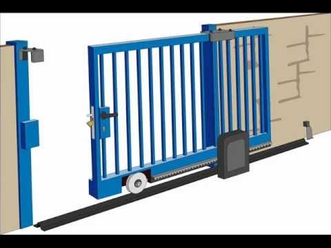 Sliding gates suppliers manufacturers dealers in for Sliding gate motor price in india