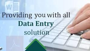 Data Entry Solution