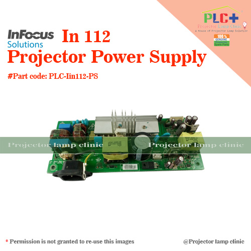 Infocus IN 112 Projector Power Supply in  Laxmi Nagar