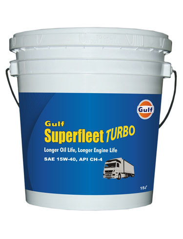Gulf Super Fleet Turbo CH4 15W 30 Diesel Engine Oil in  Shahdara