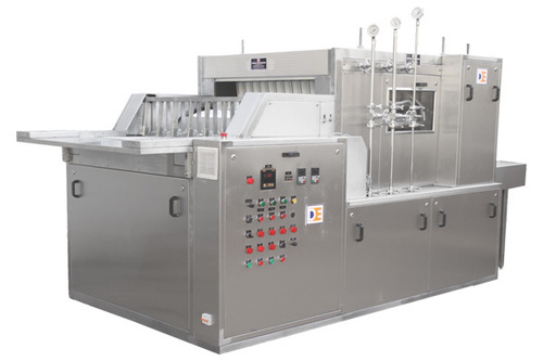Automatic Linear Tunnel type Vial Washing Machine