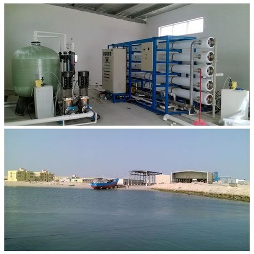 Seawater Desalination System in   Huangpu District