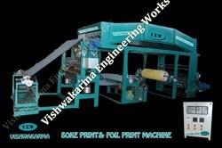 Top Range Foil Transfer Print Machine in  Udhna