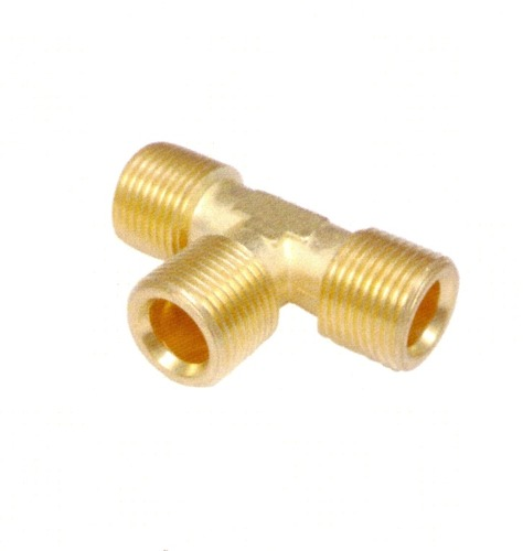 Brass Tee Connector in   Sudmam Chowk