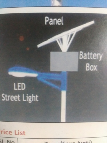 Solar LED Light Panel