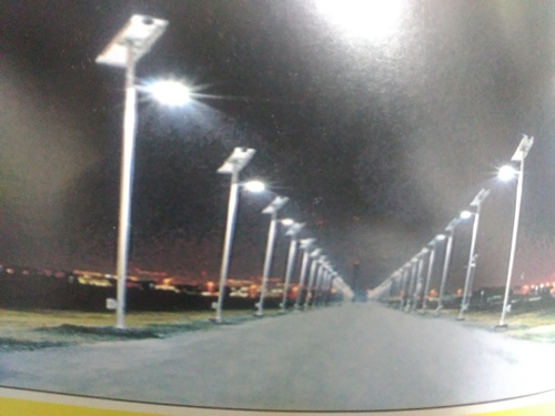 Solar Street Light  in  Naraina (Block - C & B)