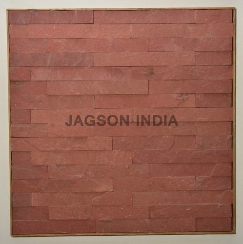 Agra Red Stone Cladding in  Sohna Road