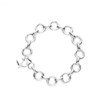 Infinity Link Charm Bracelet