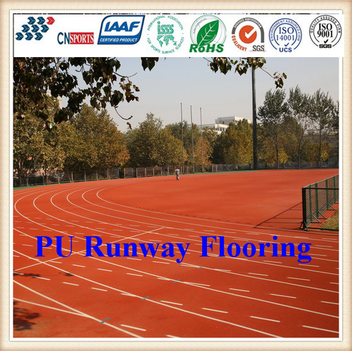 Compound Tye Synthetic Running Track