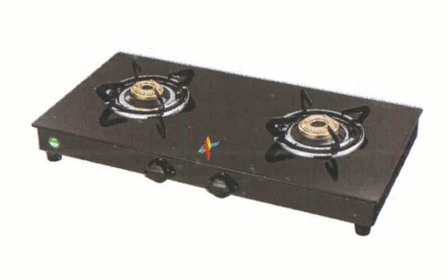 Glass Cooktop Black Gas Stove