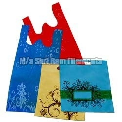 W Cut Non-Woven Carry Bags in   Industrial Area