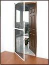 Aluminium Openable Mesh Doors