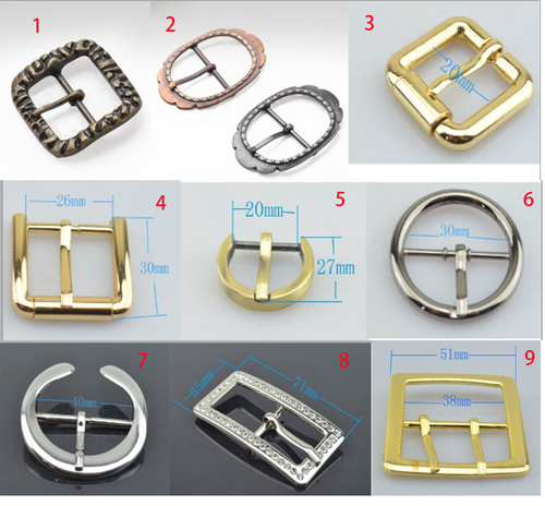 Zinc Alloy Center Bar Buckle For Belt in   Guangyan W road