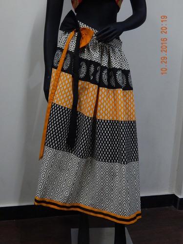 Designer Cotton Skirt in  Kasavanahalli