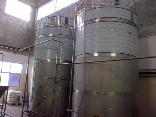 Dimple Jacket Cooling Tanks in  Redhills Road