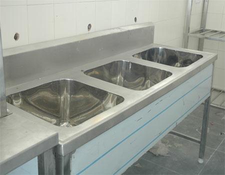 Kitchen Steel Three Sink