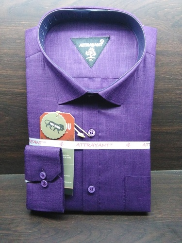 Poly Cotton Casual Shirts