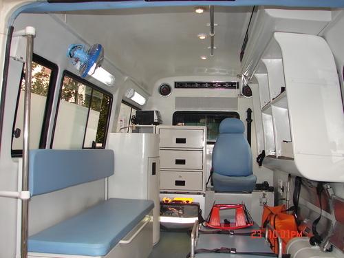 Ambulance Interior Design Services in Wazirabad