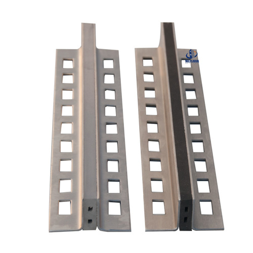 Ceramic Tile Extruded Aluminum Alloy Frame Rubber Floor Control Joint