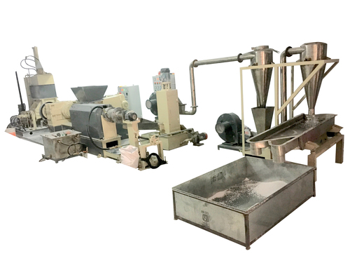 Automated Pelletizing Line With Water Ring Die Face Cutter in   Bhiwadi