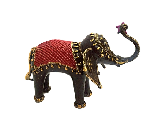 Decorative Wooden Elephant in  M.I. Road