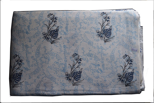 Hand Block Printed Bed Sheet in  Amer Road (Ar)