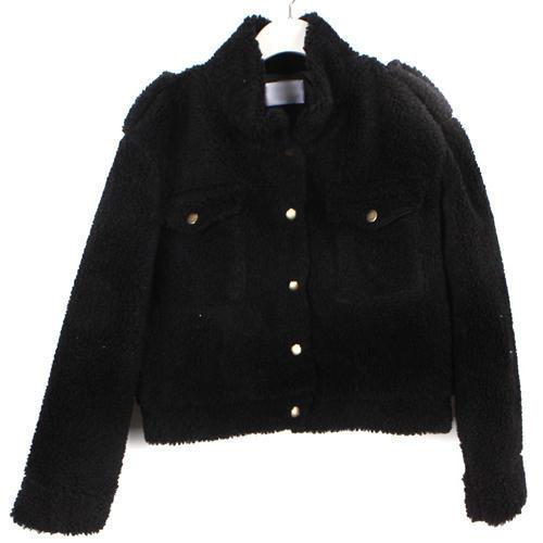 Ladies Short Woolen Coat