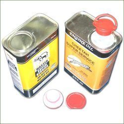 Mobil Oil Tin Containers