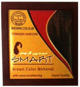 Smart Brown Color Mehndi