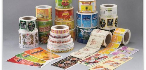 Industrial Label Printing Services in  Ghatlodiya